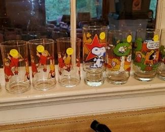Cabbage Patch glasses, Snoopy and Smurf glasses