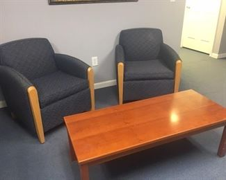 Coffee Table and  Chairs