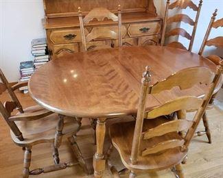 Beautiful maple table