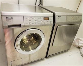 Small Space Miele Washer & Dryer
