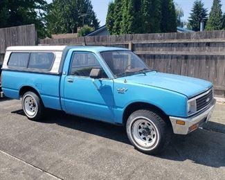 Vintage Chevy Luv DIESEL truck Needs lots of cosmetic TLC