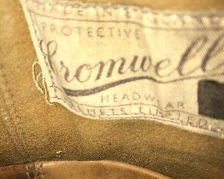 Original Cromwell seen-in Label.