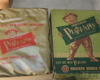 1950'S WADERS IN BOX NEVER USED