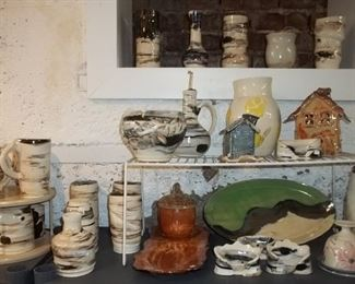 original clay pottery