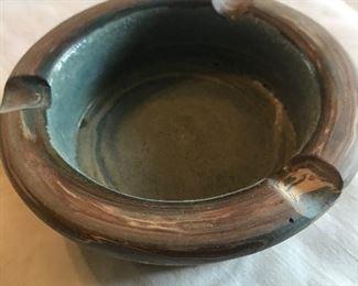 Niloak Swirl ashtray