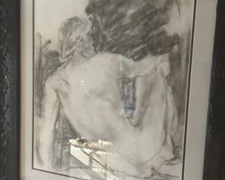 charcoal Painting