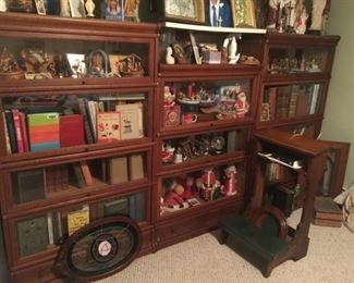 We have five sets of the Barrister Bookcases