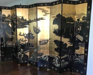 Two Sided 8 Panel Shoji Screen https://ctbids.com/#!/description/share/504666