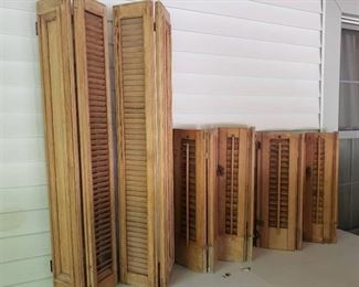Solid Wood Shutters
