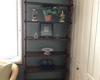81h x 9d x 30w  Bookcase with bamboo style BIN $70