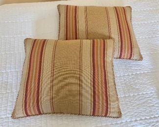 """$60 - 2 pillows 15"""" x 12.5"""".  Down"""