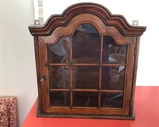 """$125 Balinese wall cabinet 25.5"""" W by 8""""D  by 22.5""""H"""