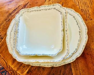 $35 Each Detail serving platters Hutschenreuther , Germany