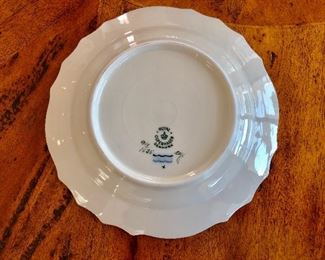 $15 each Royal Copenhagen detail  1 of 8 plates
