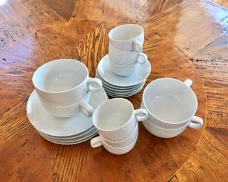 $10 each Rosenthal cappuccino  and expresso cups