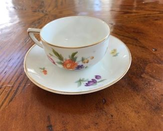 $20 Rosenthal cup and saucer