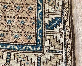 Serab rug detail