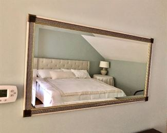"""$400  Mirror 42"""" Wide by 22.5"""" High"""