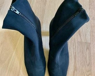 $ 55 Paul Green Fabric  boots Size 8.5  Like new