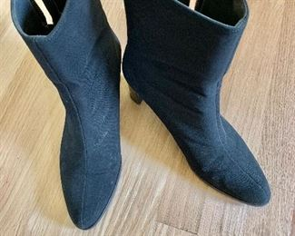 $70 Stuart Weitzman mid calf water repellent fabric boots Size 8. Like new