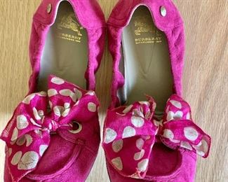 $120 Burberry Pink shoes NEW Size 8