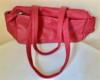 $300  Bree - Swiss leather red purse NEW