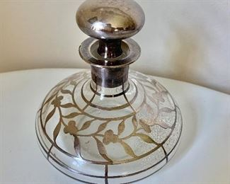 """$60 Perfume bottle 5 """" H by 5"""" Wide"""
