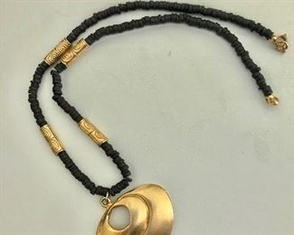 $40 Necklace with Medallion  28 Inches long