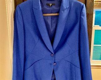$40  Boss blue jacket Size 6