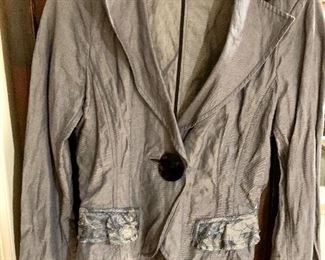 $50 Anne Fontaine jacket / blouse  Size 4
