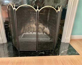 $80 Fireplace Screen