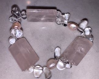 $20 Quartz stone bracelet