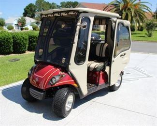 2009 Curtis cab gas Yamaha $4,000