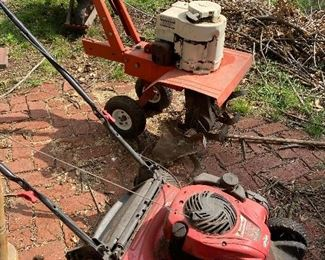 Working rototiller, lawnmower and more!
