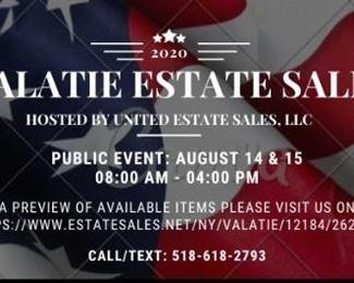 Valatie Estate Sale