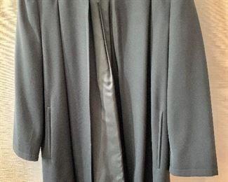 $30 - Vintage Valentino black wool jacket. Size 42/8