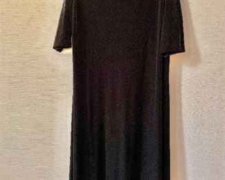 $30 - Joan Vass black high quality polyester and spandex dress.  Size 2X.