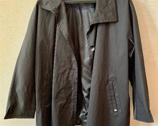 $30 - Ellen Tracy black cotton/polyester blend lightweight jacket.  Size 2X.