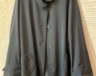 $95 - Cinzia Rocca black wool jacket.  Size 22.
