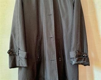 $40 -Marc New York by Andrew Marc black high quality polyester raincoat with hood. Size 2X.