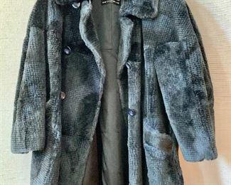 $500 Revillon sheared fur coat.  Estimated size 2X.