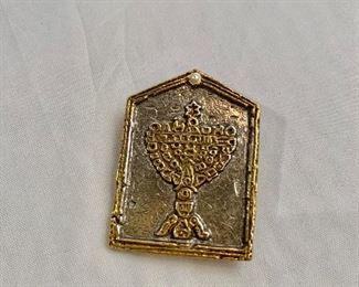 $20 - Golda Meir Club 1981 pin.