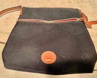 "$45 Dooney Bourke black crossbody bag. Excellent condition. Approx 10"" x 8"""