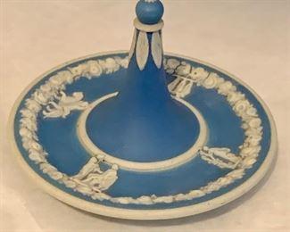 "Jasperware ring holder; $30; Approx 2.5"" high, 4"" diameter"