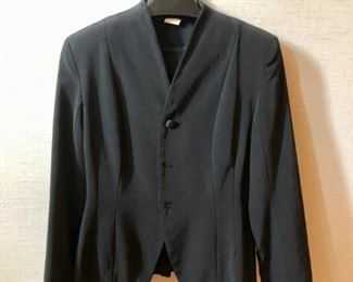 $40 - East Wind Code by Vivienne Tam rayon/cotton black shirt jacket. Size 2