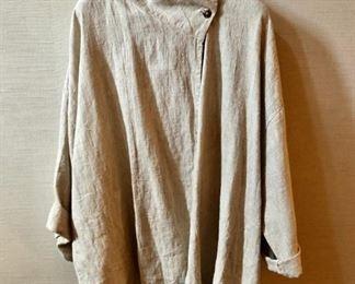 $30 - Bryn Walker linen single button jacket. Estimated size XL/XXL