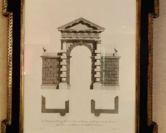 "$140 Architectural print. 25""H x 20.25""W"