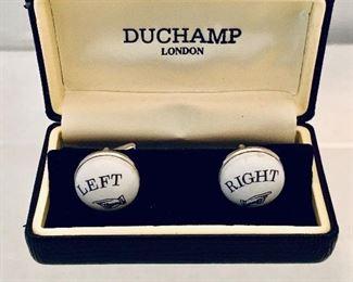 $40 Duchamp cufflinks.