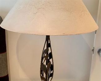 $150 Frederick Cooper lamp with paper shade; 34.5 tall