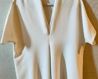 Vince Polyester Dolman Sleeve Blouse - $50; white; Size XS - runs big.